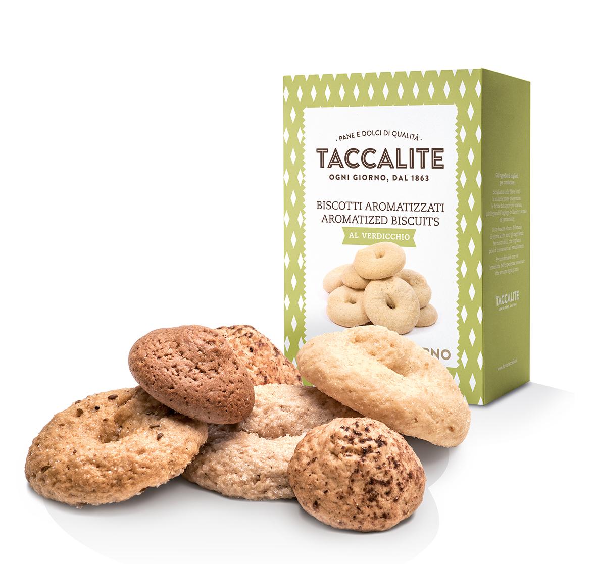 flavoured biscuits